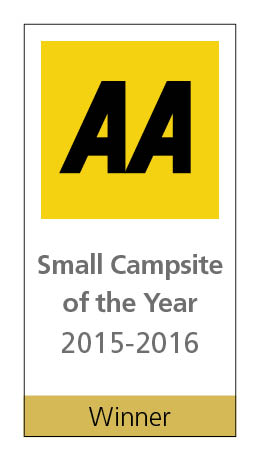 Long Acres Touring Park - winner of the AA Small Campsite of the Year 2016