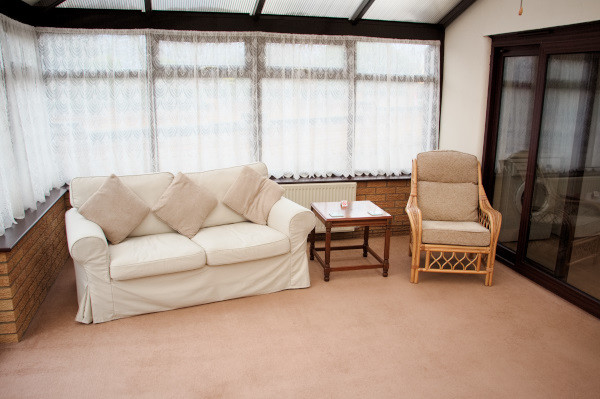 Long Acres holiday cottage conservatory