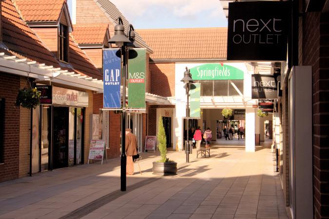 Springfields shopping centre