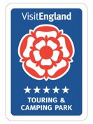 Visit England has graded Long Acres Touring Park as a 5 Star Caravan Site