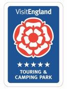 Visit England has graded Long Acres Touring Park as a 5 Star Caravan Site