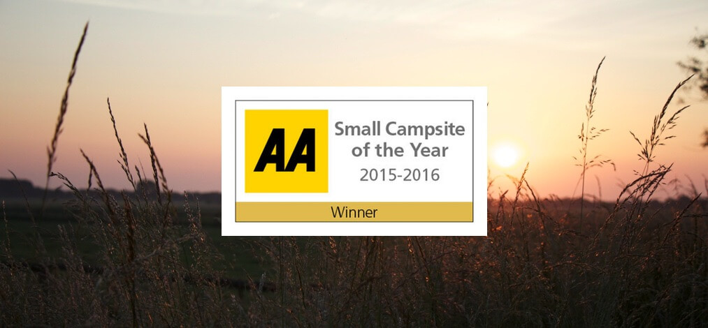 Long Acres Touring Park, the AA Best Small Campsite of the Year 2016