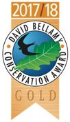 Long Acres Touring Park is awarded the Gold David Bellamy Award for commitment to conservation and the environment