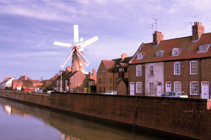 Maud Foster windmill Boston Lincolnshire