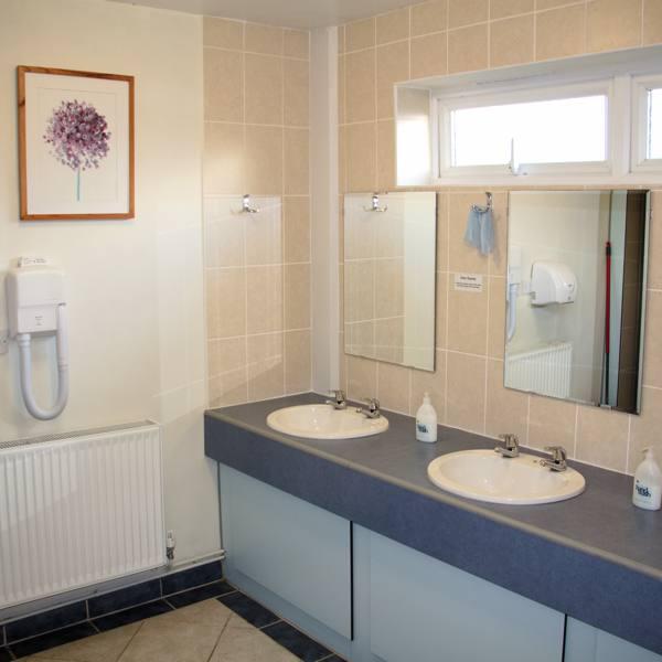 5-Star Heated Washroom