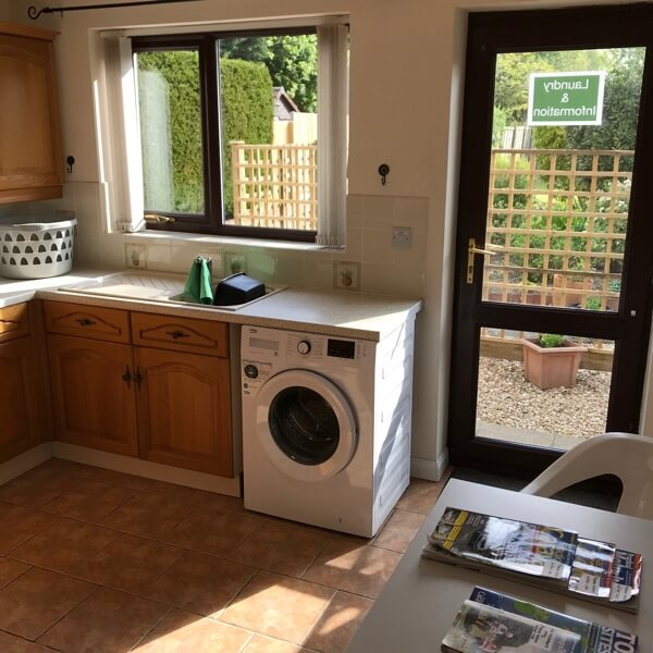 Laundry facilities and Tourist information leaflets, cycle routes and pub guides are available