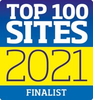 Voted Top 100 Sites Finalist 2021